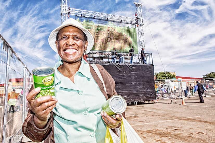 KOO's canned food billboard