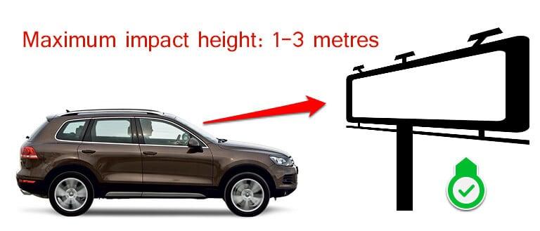 Billboard height example