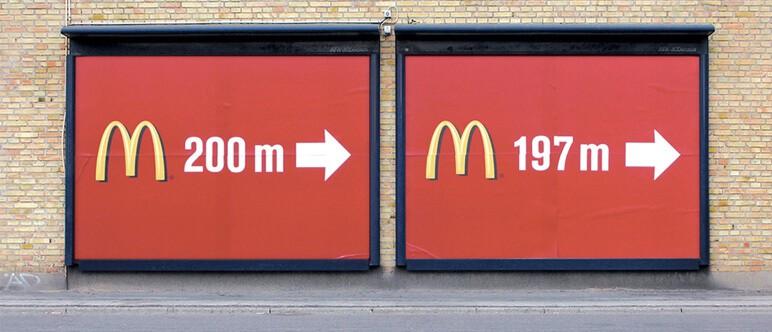 McDonald's billboard ad