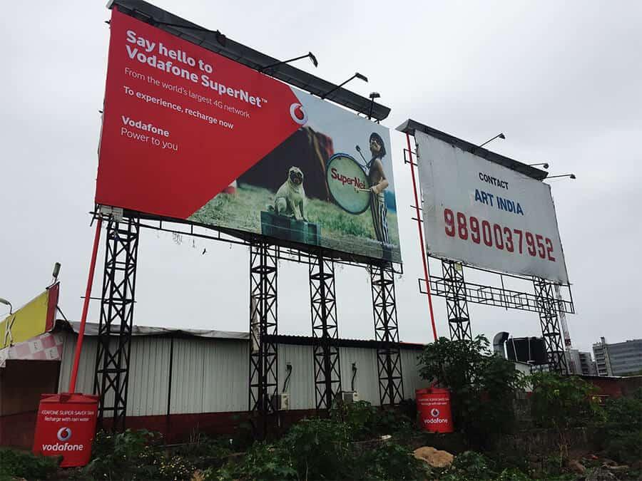 Vodafone Billboard Pimpri Sandas