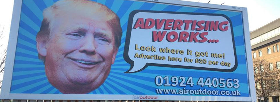 trump advertising