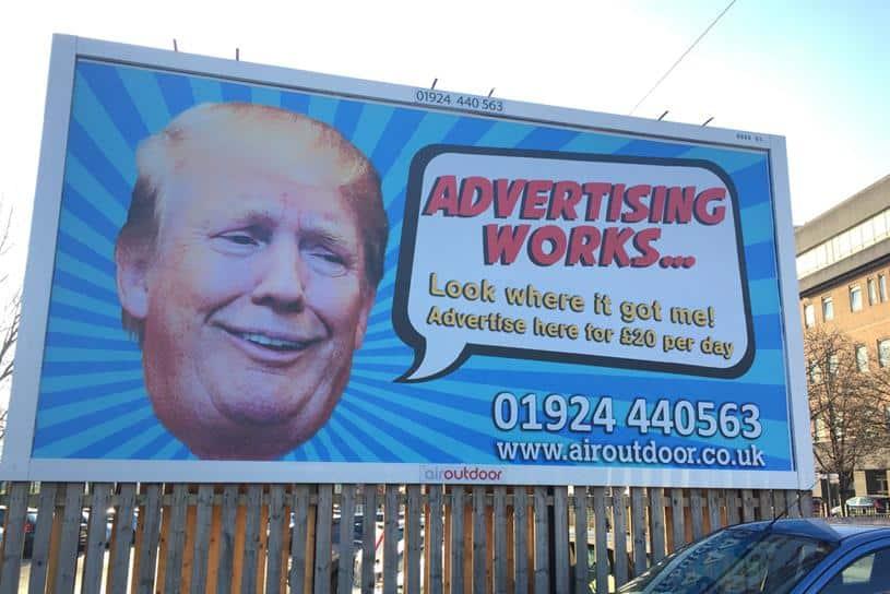 Donald Trump Billboard