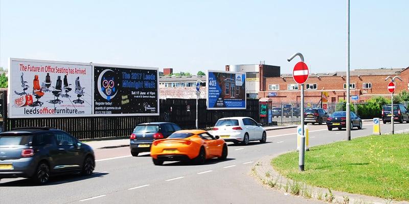 Prime billboard location