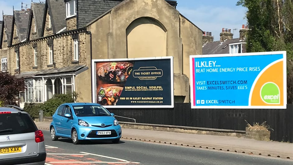 Ilkley Food Billboard