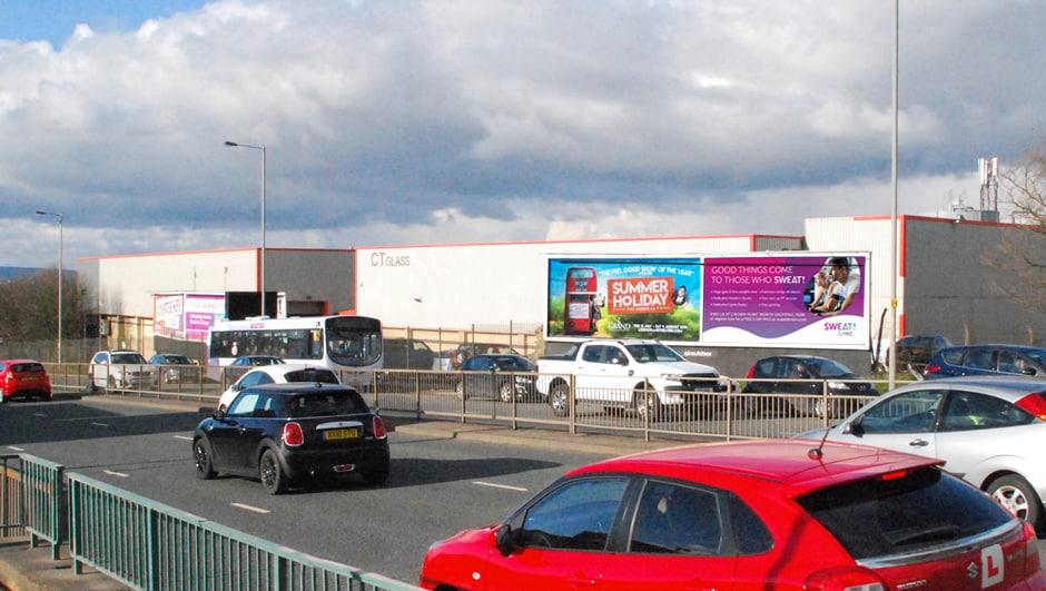 High Traffic Billboard