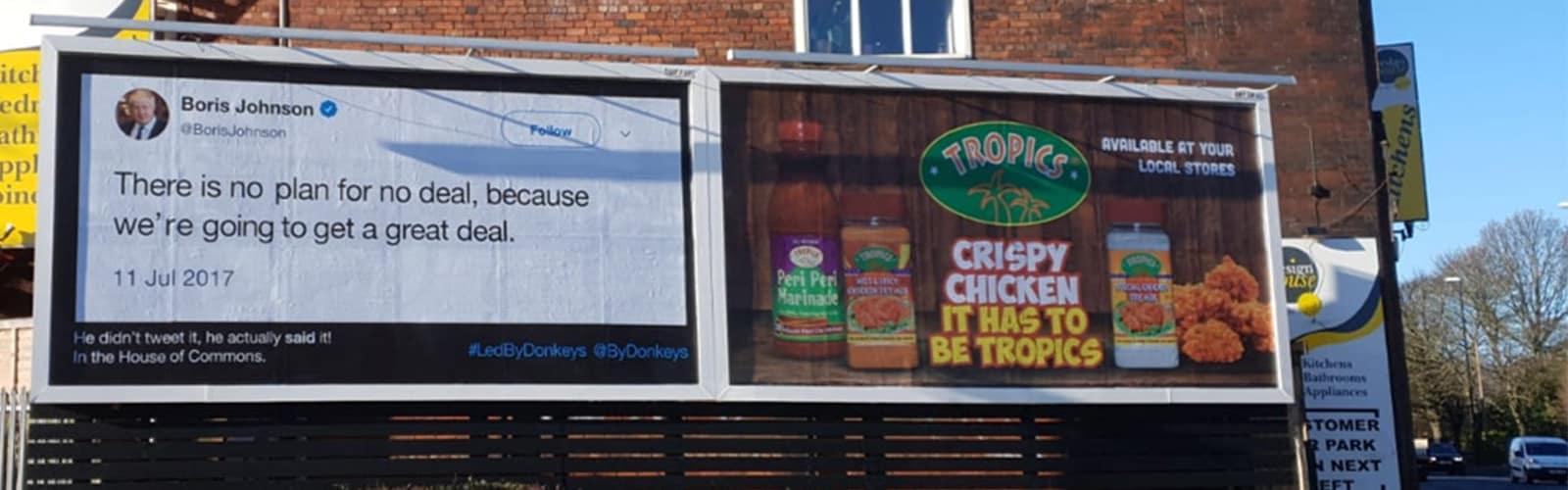 Brexit billboard campaign