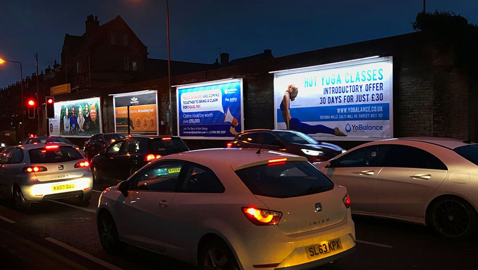 Billboard leeds