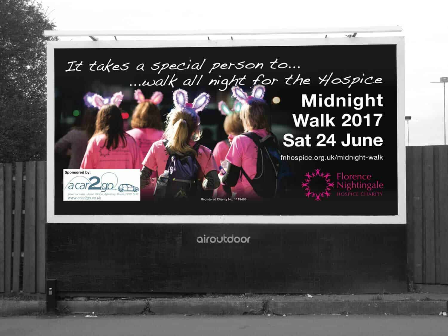 Florence Nightingale Hospice Charity Billboard Charity Billboard