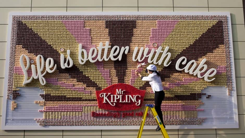 Mr Kipling Disruptive marketing