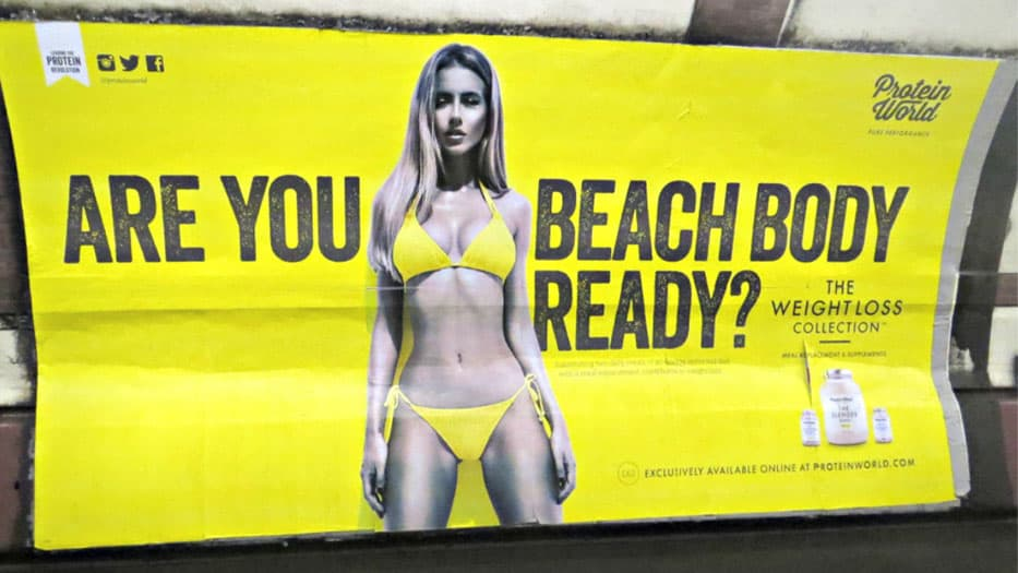 Protein world Billboard