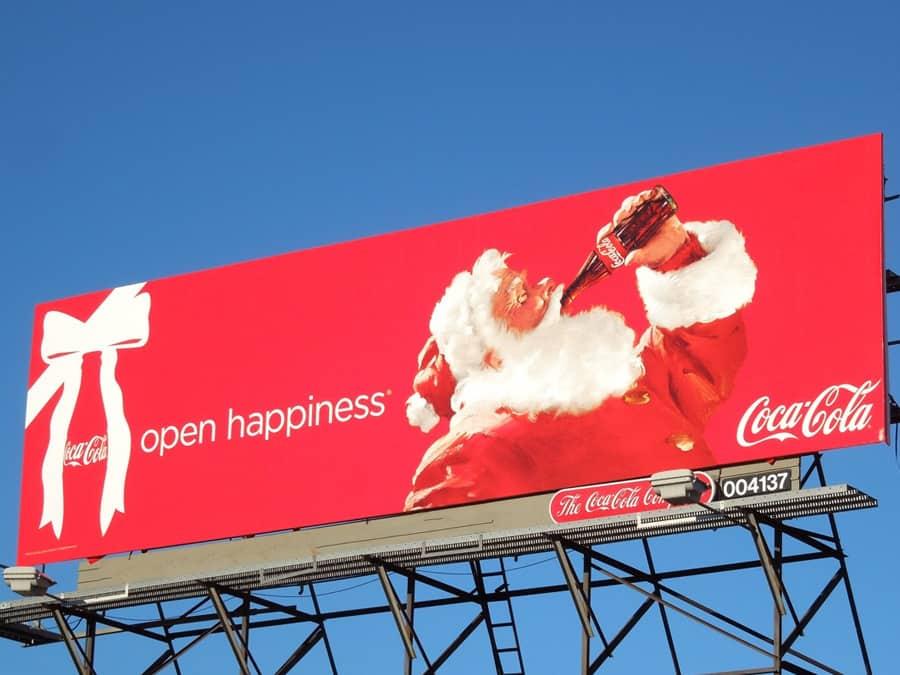 coca cola billboard