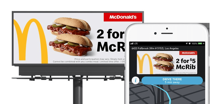 McDonalds Outdoor Advertising campaign