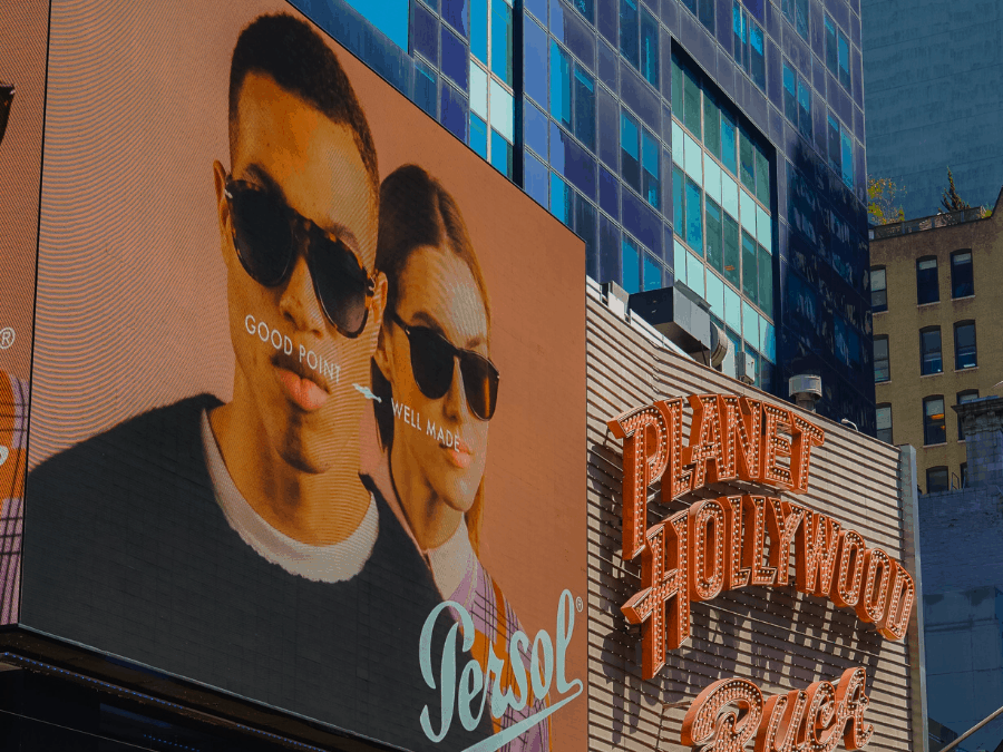 City centre outdoor advert