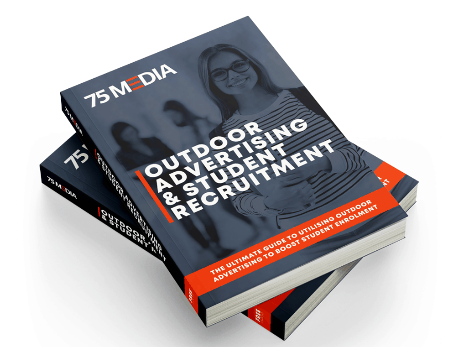 Free Ebook: Increase Student Enrolment With Outdoor Advertising For Education - 75Media