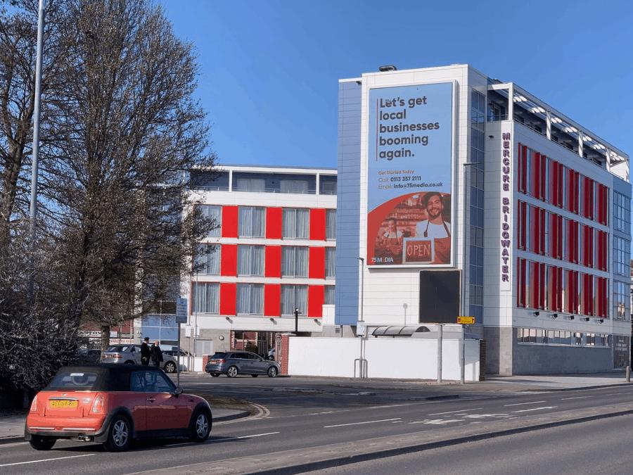 75Media Digital billboard in Somerset