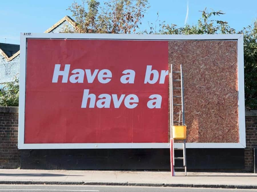 Half KitKat Billboard