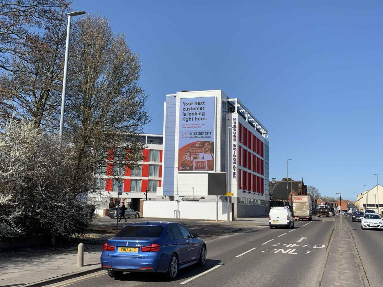 Bridgewater digital billboard