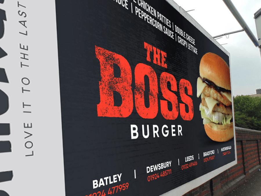 Restaurant outdoor advertising